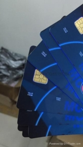 China PVC credit card for visa and masercard with uv on sale