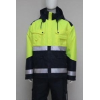 China High visibility Seam Sealing lined jacket on sale