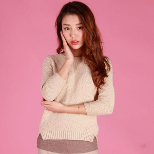 China 2016 Fashion Lady knitted Jumper on sale