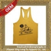 China Good quality top level tank top men custom for sale