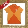 China Pique cotton polo shirt made from custom sketches with client logo and brand for sale