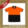China Customized Super quality orange and blue polo shirt for sale