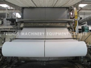 China 1880mm toilet tissue paper machine on sale