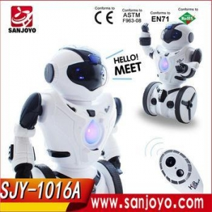 China 2016 good price Balance Mini robot Remote Control Boxing Drive Battery RC Robot Toy on sale