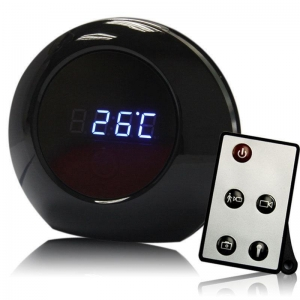China Mini Spy Alarm Clock Camera Motion Detect Hidden Camcorder DVR Video Recorder on sale