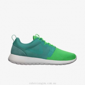 China Men's Shoes 616325-331 Nike Roshe Run Hyperfuse QS Sport Turquoise/Summit White/Poison Green on sale