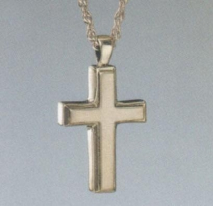 China Sterling Silver Men's Cross Pendant on sale