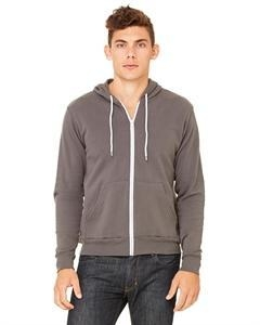 China Bella + Canvas Unisex Poly-Cotton Fleece Full-Zip Hoodie (#119823) on sale
