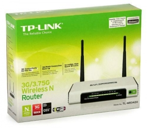China TP-Link TL-MR3420 3G 300Mbps Wireless- N USB Modem WiFi Router +BILL & 3 Years Warrantty on sale