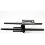 China Rod Rail System Baseplate Support Mount 15mm For FF Follow Focus Rig 5D2 60D 7D on sale