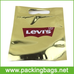 China Reclosable Zipper Close T Shirt Poly Bags on sale