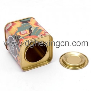 China Small metal candy tin with inner lid on sale
