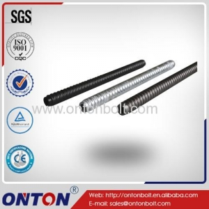 China ONTON Customize High Quality Rock Self-drilling Hollow R32S High Tensile Threading Rod on sale