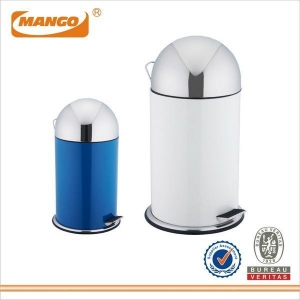China Powder Coating Rubbish bin with Circular Arched Lid MHI-041 on sale