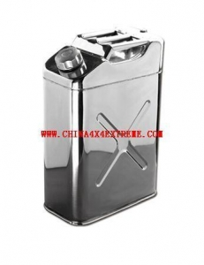 China 4WD Winches Product name20L STAINLESS STEEL JERRY CANS on sale
