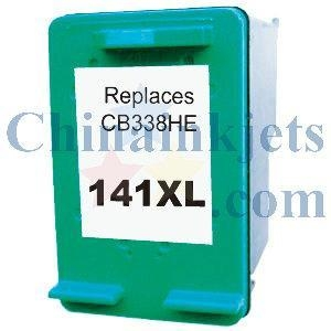 China Remanufactured HP 141XL(CB338HE) Colour Inkjet Cartridge on sale