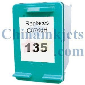 China Remanufactured HP 135(C8766HE) Colour Inkjet Cartridge on sale