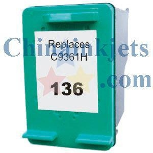 China Remanufactured HP 136(C9361HE) Colour Inkjet Cartridge on sale