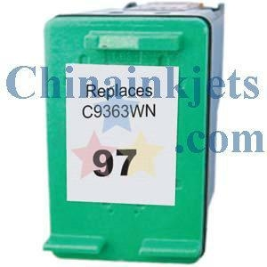 China Remanufactured HP 97(C9363WN) Colour Inkjet Cartridge on sale