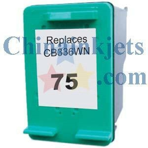 China Remanufactured HP 75(CB337WN) Colour Inkjet Cartridge on sale