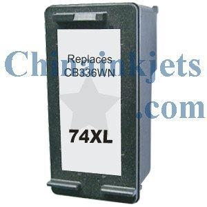 China Remanufactured HP 74XL(CB336WN) Black Inkjet Cartridge on sale