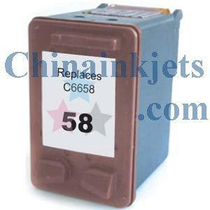 China Remanufactured HP 58(C6658AN) Colour Inkjet Cartridge on sale