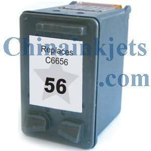 China CNH-56 Remanufactured HP 56(C6656AN) Black Inkjet Cartridge on sale