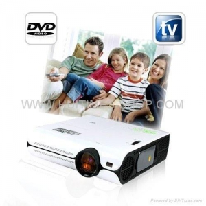 China Multimedia Projector with DVD Player TV HDMI on sale