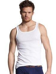 China Hugo Boss Mens Casual Tank Top Orange Small on sale