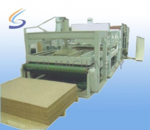 China Two layers Cascading Type Honeycomb Paper Machine on sale