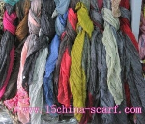 China new style scarf / cotton shawl on sale