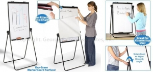 China Cork Board is a Reversible Easel/Table Made of Dry Erase White Board on sale