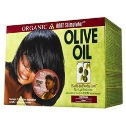 China Organic Root Stimulator Olive Oil Relaxer - Normal Strength on sale