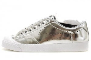 China Nike All Court Low Leather Silver on sale