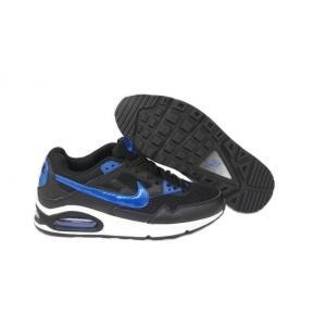 China Nike Air Max Skyline Running Mens - Black/Blue/White UK Trainers on sale