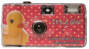 China Baby Cameras Baby Girl Duck Disposable Camera on sale