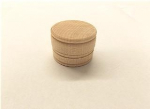 China Boxes, Wood 1-5/8 Small Trinket Box with Lid on sale