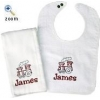 China Baby Bib & Burp Sets for sale