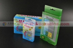 China Clear shoes box Clear plastic PVC box with battery on sale