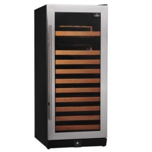 China 100 Bottle Compressor Single Zone Wine Cooler on sale