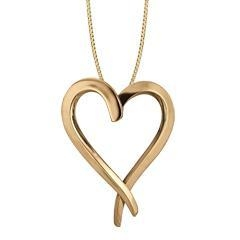 China 14K Gold Touch My Heart Large Pendant