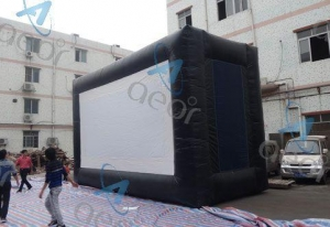China Inflatable Outdoor Movie Screen on sale
