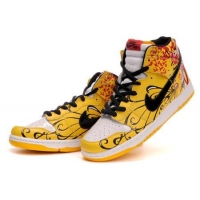China Nike Dunk High Yellow Black Red On Sale on sale