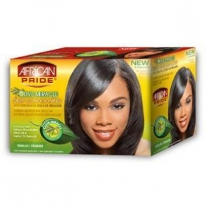 China Olive Miracle No-Lye Relaxer - Regular on sale