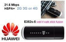 China 21.1 MBPS Data Card Huawei E352s-21 MBPS 3G MODEM with VOICE Call on sale