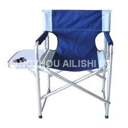 China Strong Aluminum frame relaxing beach director chair on sale