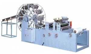 China Baby care towel making machine (two lines) / C Fold drawing paper machine on sale
