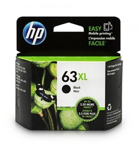 China Computers HP 63XL Black Original Ink Cartridge (F6U64AN) on sale
