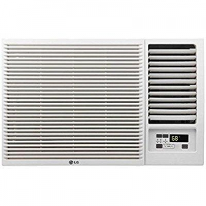 China LG 12,000 BTU 230V Window-Mounted AIR Conditioner with 11,200 BTU Supplemental Heat Function on sale