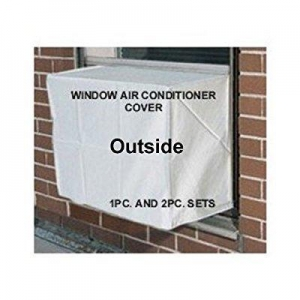 China Window air conditioner covers - Outside Window /thru Wall Cover - 19W,14H,14D - White on sale